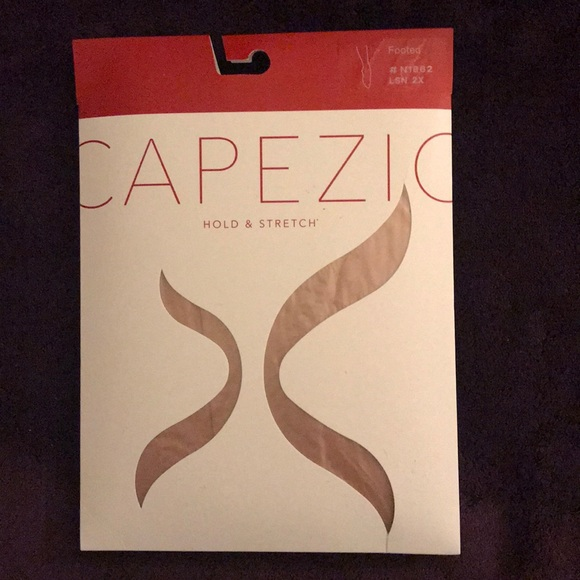 73474f8b4e600 Capezio Other | Hold Stretch Plus Size Footed Tights | Poshmark